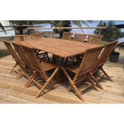 Table Exotica extensible rectangulaire 160