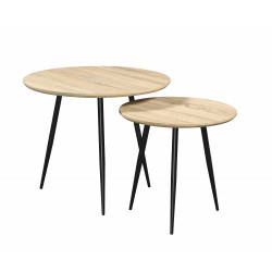 Set de 2 tables Buck