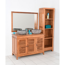 Meuble de salle de bain Watafel Kreypak 3P