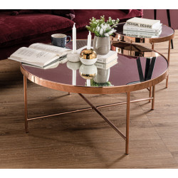 Table basse ronde Xander
