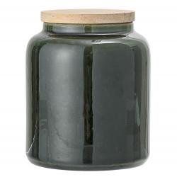 Pot vert avec bouchon 12