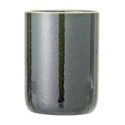 Pot vert avec couvercle 16