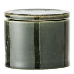 Pot vert avec couvercle 10