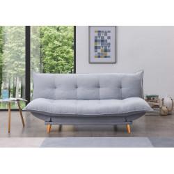 Canapé lit Pillow gris clair