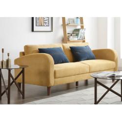 Canapé 3pl Powell Jaune