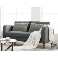 Canapé 2pl Powell gris