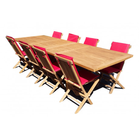 Table Exotica extensible rectangulaire 210